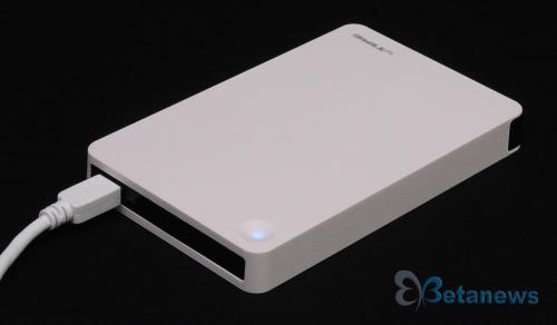 세련된 깔끔함의 미학! EFM 아이피타임 HDD 1025 외장하드 케이스